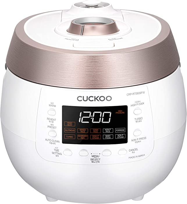 The Best Cuckoo Pressure Cooker Smart 1H