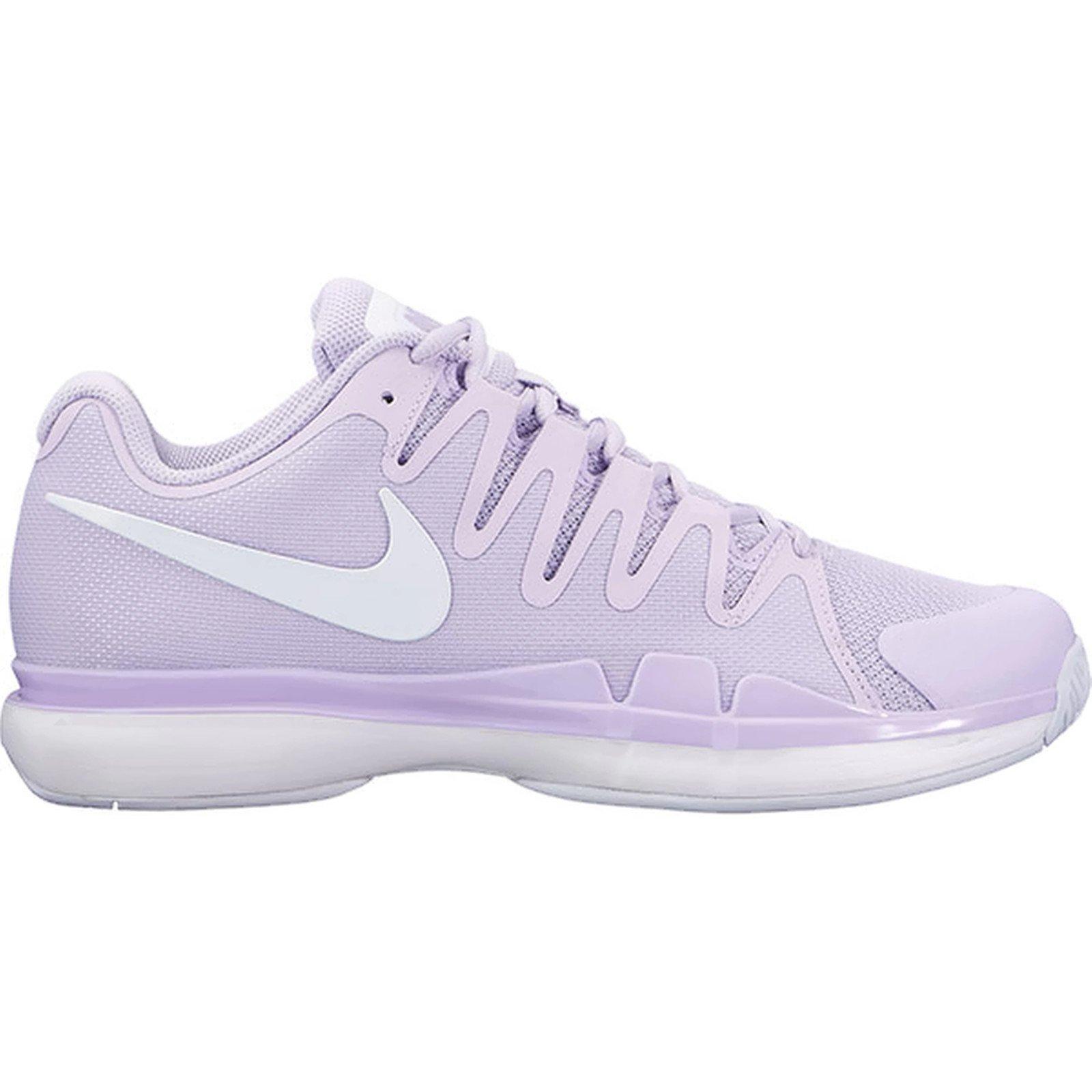 Nike Women's Zoom Vapor 9.5 Tour Tennis Shoe (U.S. Open 2016 colors) (8 B(M) US, Violet Mist/White-Summit White)