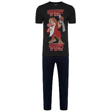 0f8106994 Men Pyjamas Mens T-Shirts Pyjamas Pants Printed Pj STAR WARS & GRUMPY BY  NAME
