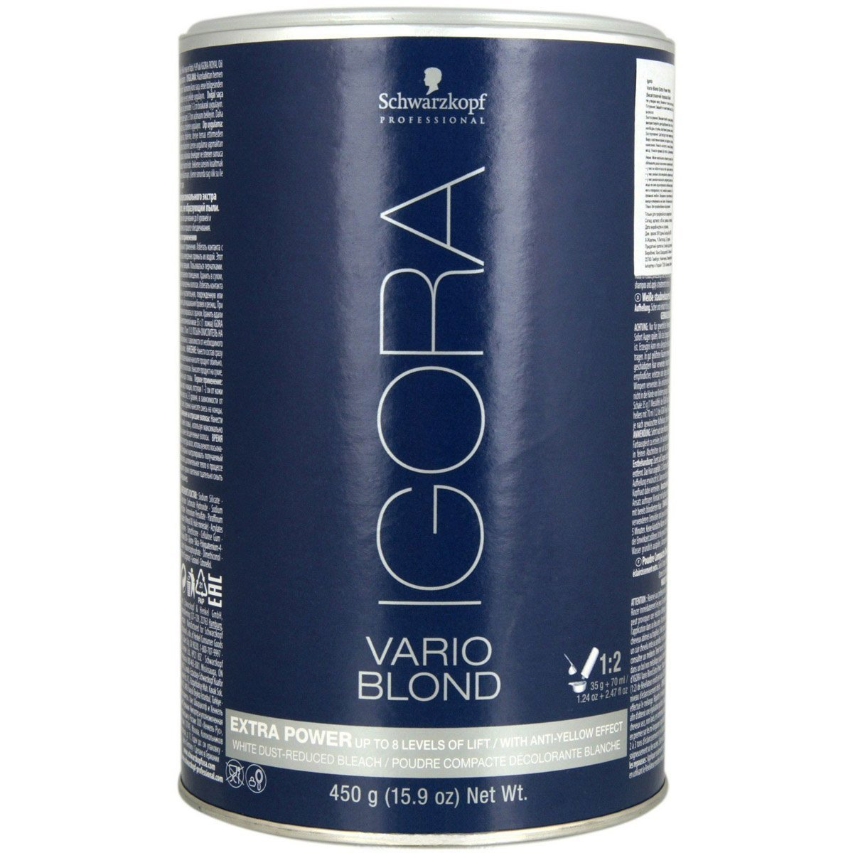 Schwarzkopf Professional Igora Vario Blond Extra Power, 15.9 Ounce