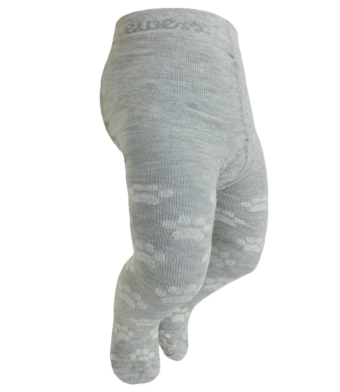EveryKid Ewers 1er oder 2er Pack Babystrumpfhose Jungen Strumpfhose Markenstrumpfhose mit Kätzchen Pomotiv und Tatzen für Babys (EW-905039-S18-BJ1) inkl Fashionguide