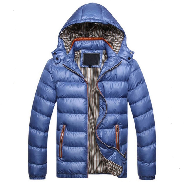 be-my-guest Men Jacket Warm Coat Outwear Winter Spring Parka ...