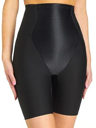 2a0ac564449 Va Bien Firm Control Satin Panel Hi-waist Brief Plus Size Shapewear at  Amazon Women s Clothing store