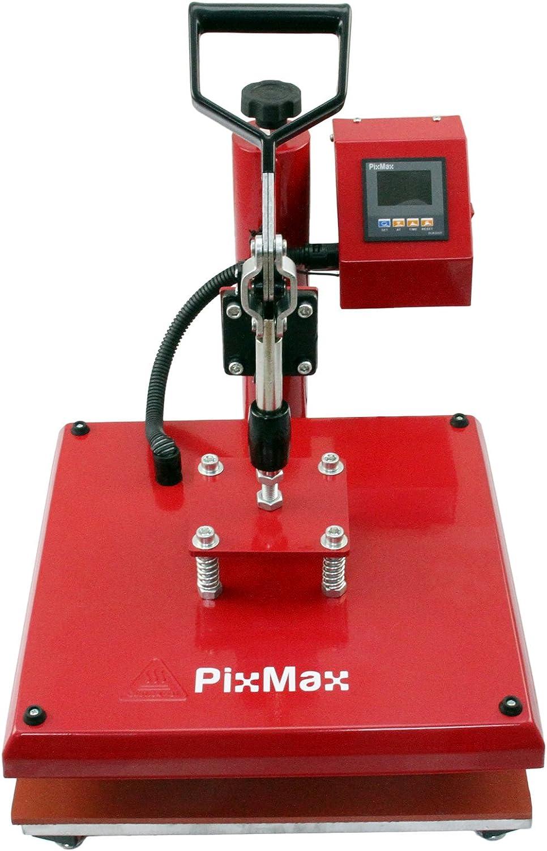 PixMax - Prensa Térmica Swing 38cm para Sublimación Camisetas y Plotter de Corte de Vinilo: Amazon.es: Electrónica