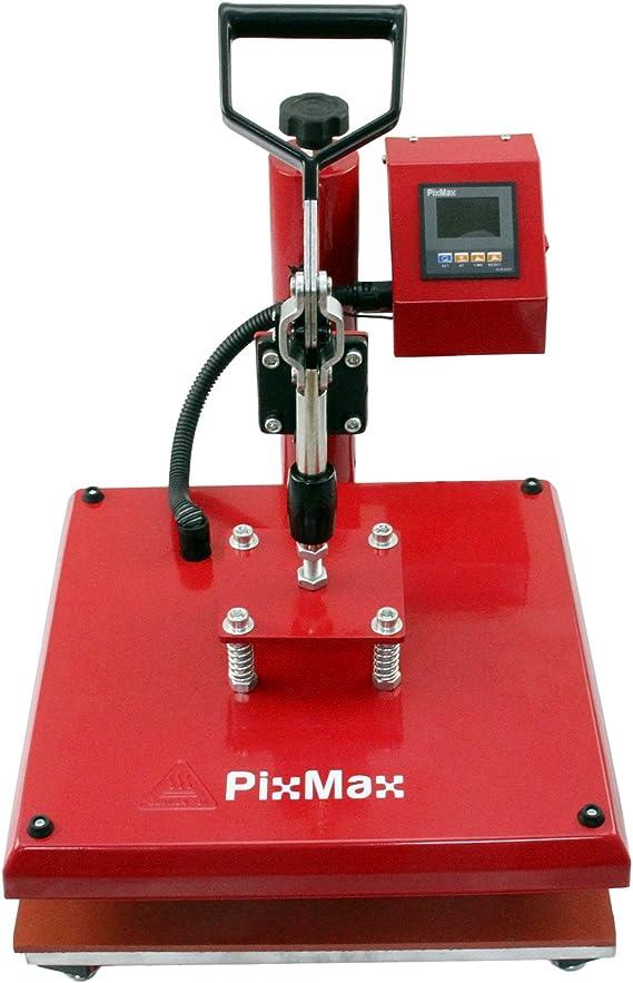 PixMax - Prensa Térmica Swing 38cm para Sublimación Camisetas y ...