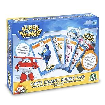 Superwings - Tarjetas Gigantes 2 Caras (Giochi Preziosi UPW21000)
