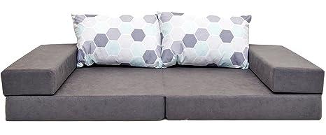 Welox ltd. Colchón de sofá de jardín Resistente al Agua fácil de almacenar