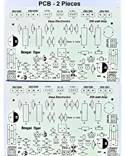 Generic 2 0 Channel 2SC5200 Amplifier Board Without: Amazon