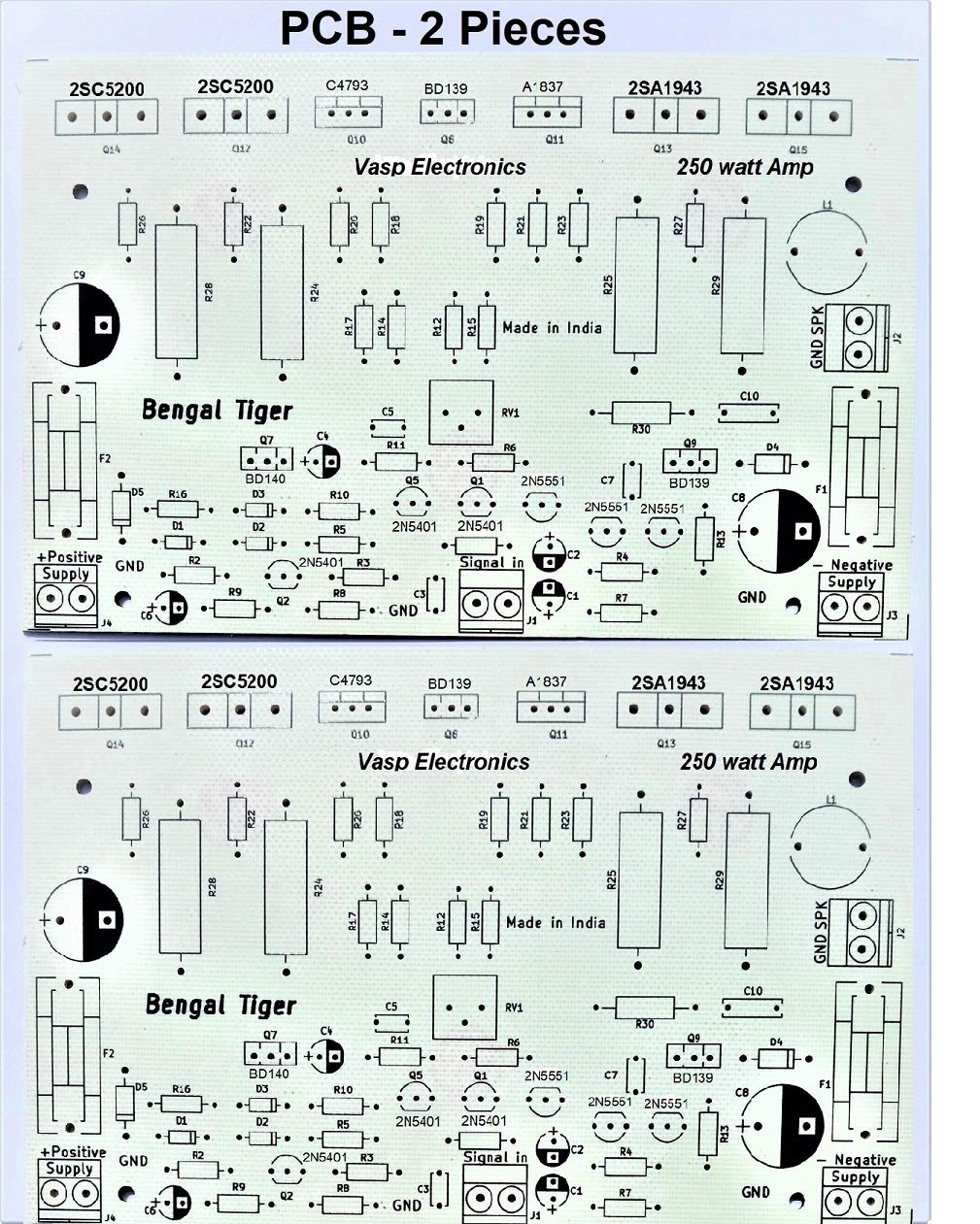 Electronics Projects Bass Booster Circuit Diagram