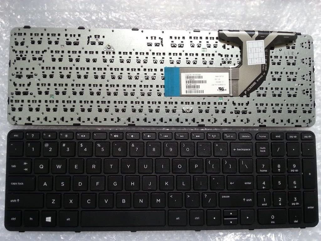 US Layout Replacement Keyboard for HP Pavilion 15-E 15-N 15-G 15-R 15-D 15-H 15-F 15-S 15-A Series Laptop
