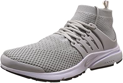 wholesale dealer 04949 82ca5 Nike Men s Air Presto Flyknit Ultra Grey Running Sport Shoes - 9 UK  Buy  Online at Low Prices in India - Amazon.in