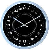 Horloge 24 Heures - Ultra précise Lecture facile - 30 cm