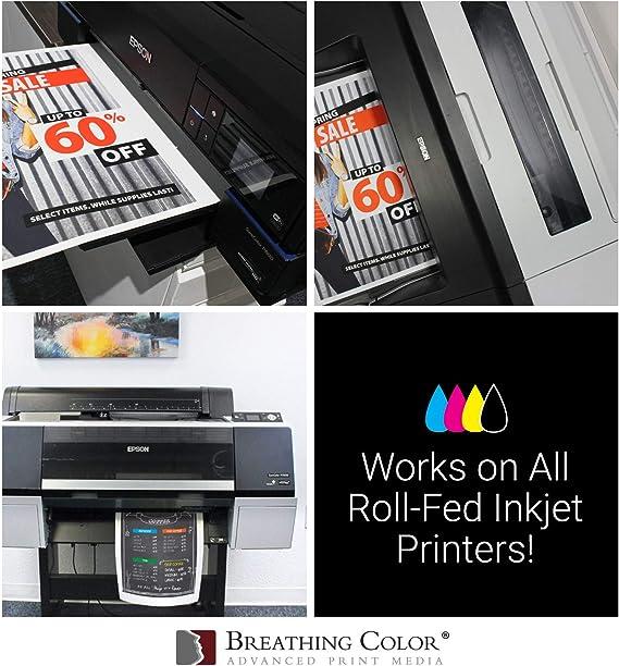 Amazon.com: Rollos de vinilo adhesivo imprimible con ...