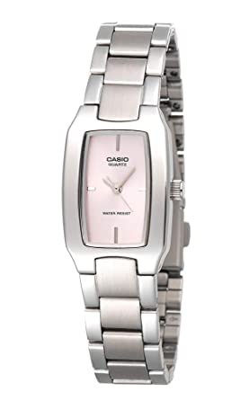f4adff0da04 Image Unavailable. Image not available for. Colour  Casio Enticer Analog  Pink Dial Women s Watch ...