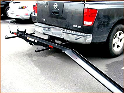 Trailer Hitch Motorcycle Carrier >> Amazon Com Motorcycle Carrier High Mount Cargo Ramp Bars For Sport