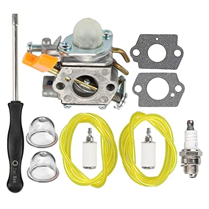 Amazon.com: HIPA carburador con Tune Up Kit para Ryobi 30 cc ...