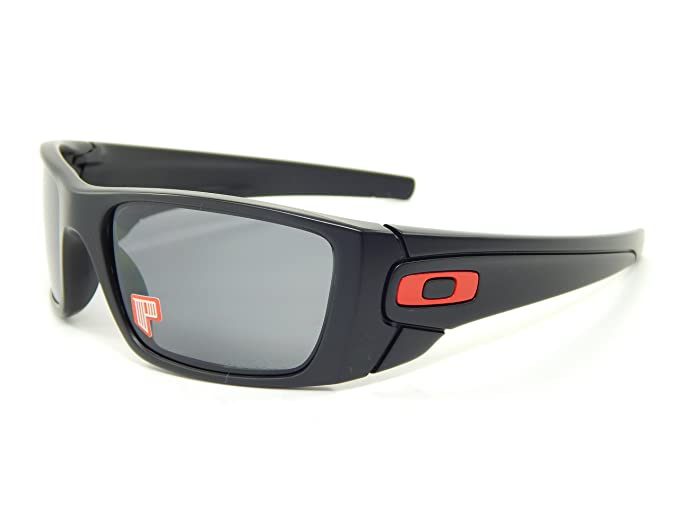 66cb551e98 Image Unavailable. Image not available for. Colour  New Oakley Ducati Fuel  Cell 9096-44 Matte Black Grey Polarized Sunglasses