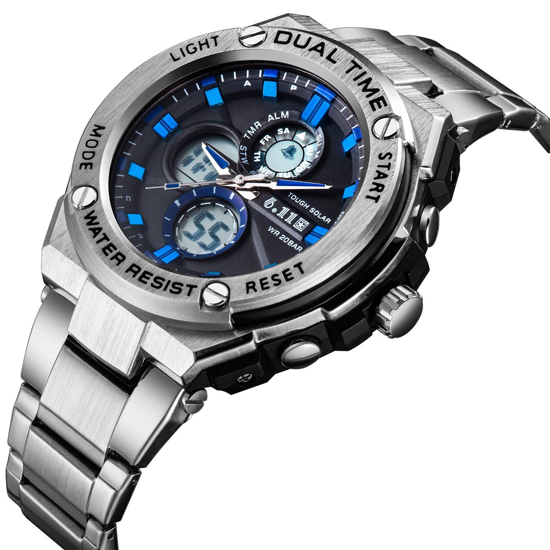 orologio sportivo in metallo
