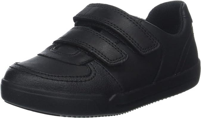 Clarks Boys/' Mini Racer Uniform Dress Shoe