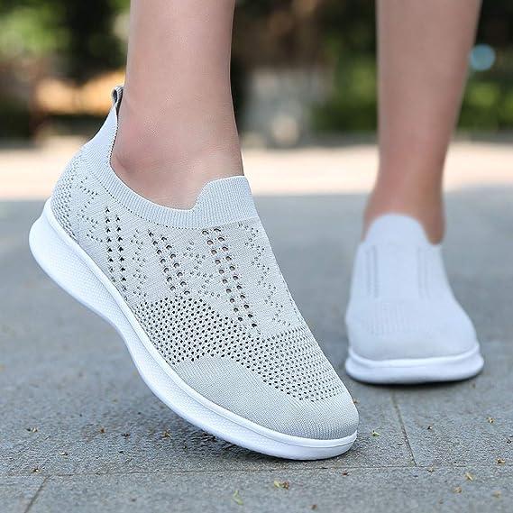 Luckycat Mujer Zapatos Deportivas Running Trekking Sneakers ...