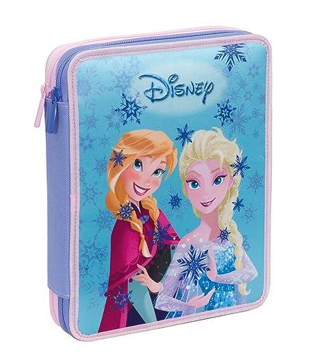 Estuche 2 Cremalleras Maxi Disney , Frozen Magic Lights ...