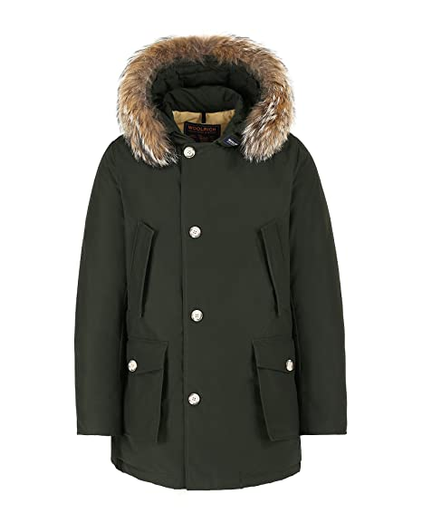 WOOLRICH WOCPS2477 RSG ARCTIC ANORAK PARKA Dark Green: Amazon.co.uk:  Clothing