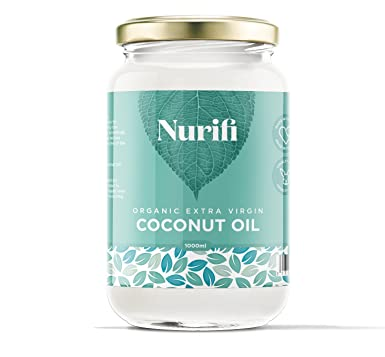 1KG Organic Extra Virgin Coconut Oil - Pure, Raw & Cold Pressed