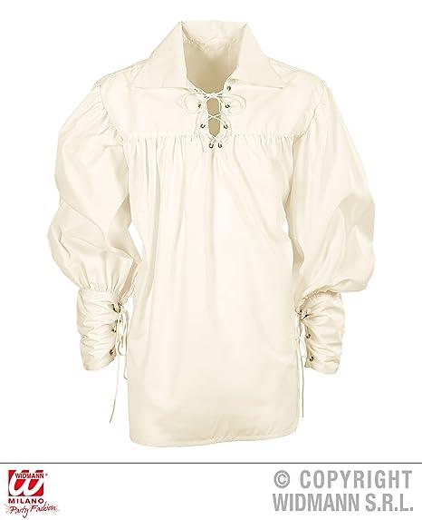 WIDMANN WDM67657 - Costume Per Adulti Camicia Spadaccino Crema ... 69794744fbf
