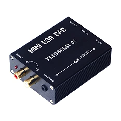 Q5 HIFI USB to Coaxial S/PDIF Converter Convert Digital to Analogue Signal Mini USB