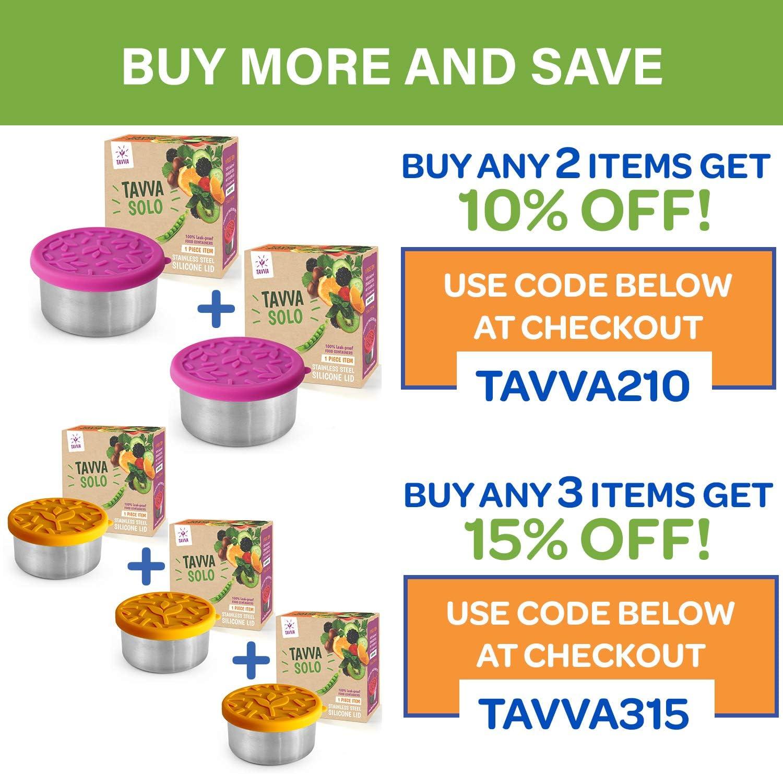 Amazon.com: TAVVA Recipiente de ensalada de acero inoxidable ...