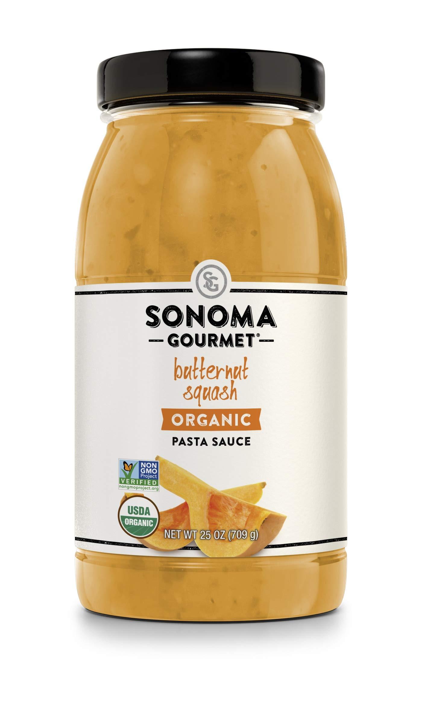 Sonoma Gourmet, Organic Pasta Sauce, Butternut Squash, Quantity - 1 case (pack of 6)