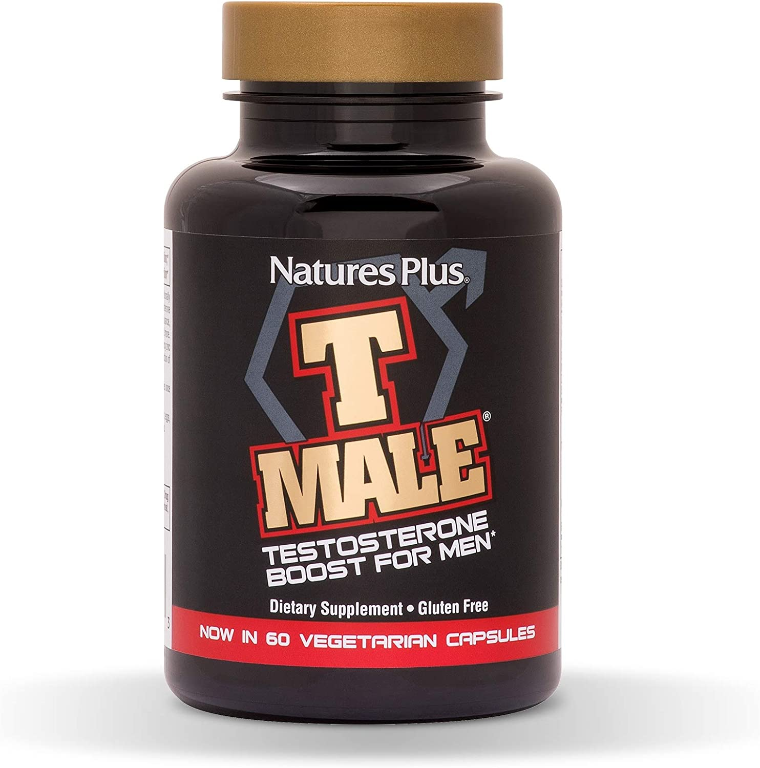 Amazon Com Naturesplus T Male 60 Vegetarian Capsules Natural