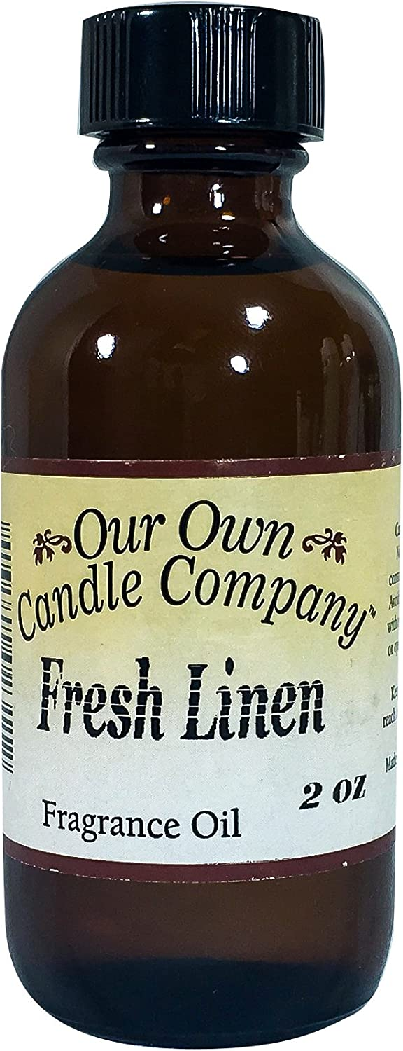 Our Own Candle Company Fragrance Oil, Fresh Linen, 2 oz