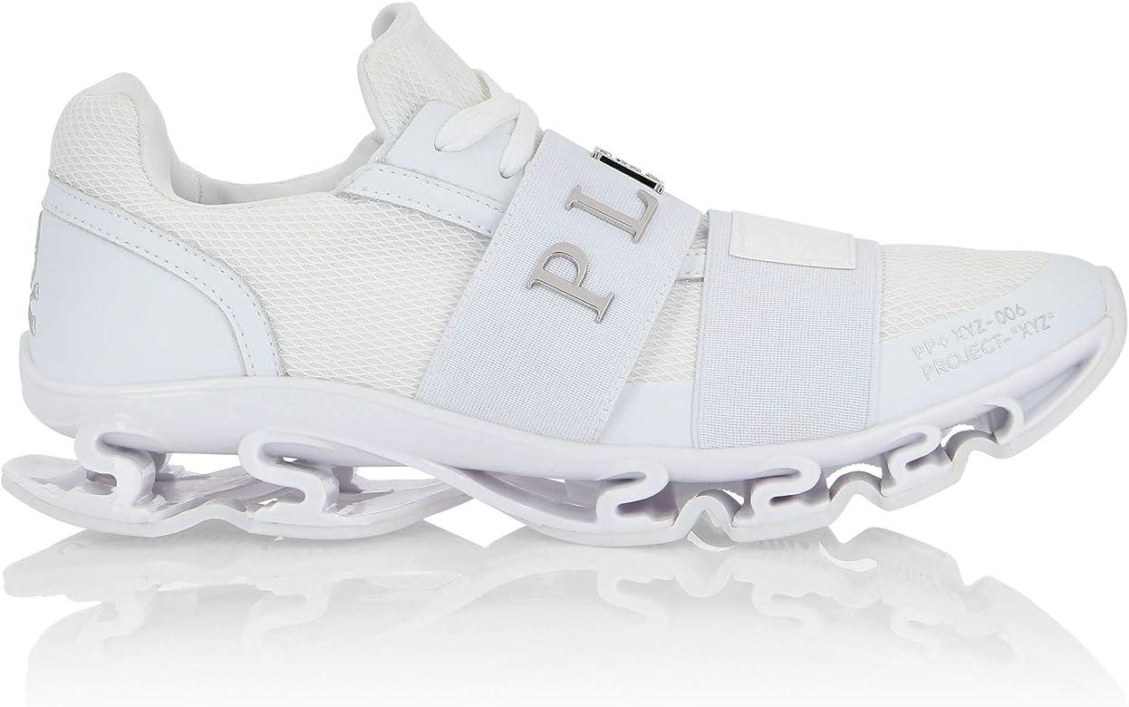 Philips Plein A18MSC189PXV070N Runner XYZ - Zapatillas Deportivas para Hombre, Color Blanco Blanco Size: 41 EU: Amazon.es: Zapatos y complementos