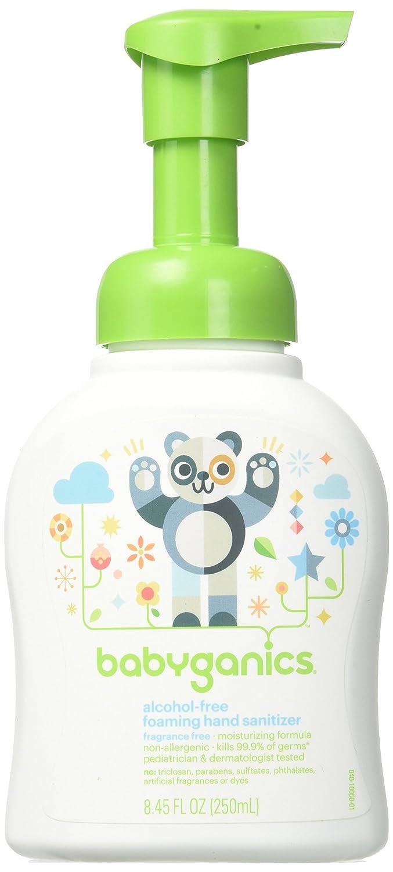 BabyGanics Germinator Hand Sanitizer BGHANDSAN250