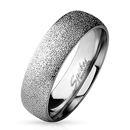 Trau alianzas Anillo de compromiso Anillos Partner banda anillo mujer hombre acero inoxidable narguile: Amazon.es: Joyería