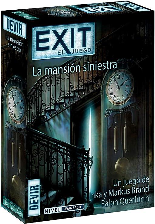 Devir- Exit 11, La mansión siniestra (BGEXIT11): Amazon.es: Juguetes y juegos