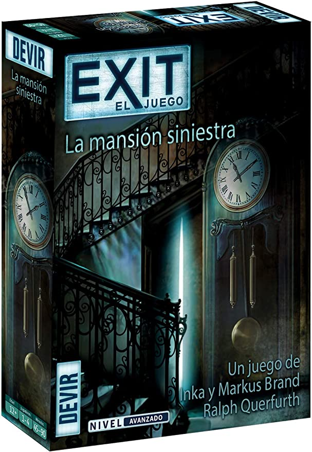 Devir- Exit 11, La mansión siniestra (BGEXIT11): Amazon.es ...