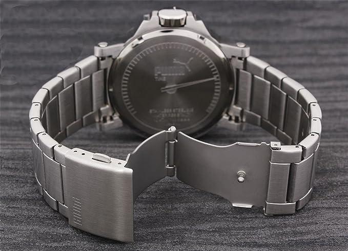 Amazon.com: Puma PU103461003 Motorsport Black Metal Ultrasize 3HD Watch: Watches