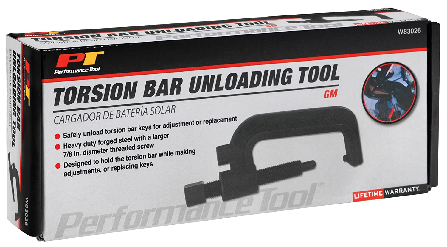 torsion bar removal tool. amazon.com: performance tool w83026 gm torsion bar unloading tool: automotive removal