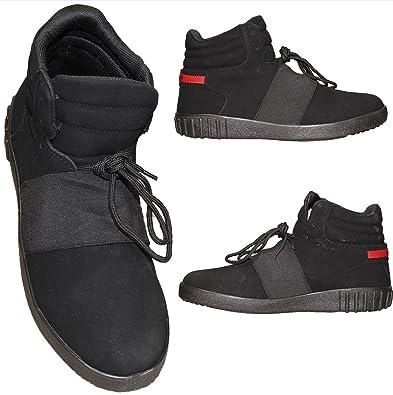Tamboga Herren High Top Sneaker Hohe Schuhe Boots Basketball