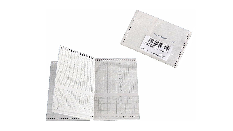 Paquetes plegados de papel térmico para CTG compatibles con HP/Philips 9270-0484