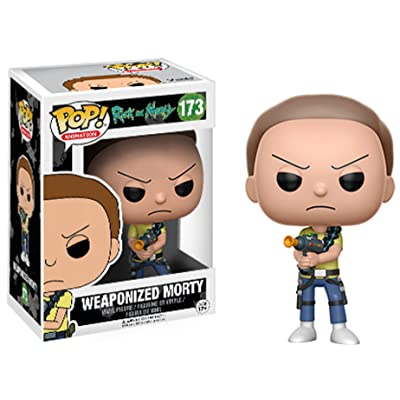 Morty Rick and Morty #173 Weaponized Funko Pop!: Entertainment Collectibles [5Bkhe1106955]