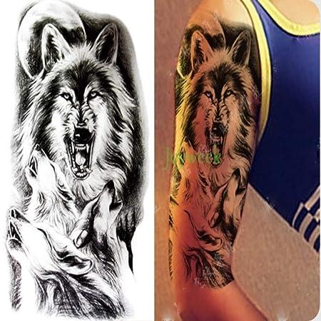 3 PC Impermeable Etiqueta engomada del Tatuaje del Tigre del ...