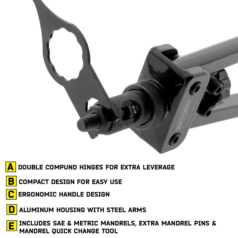 Smittybilt 2834 Black Nutsert Tool Set by Smittybilt (Image #3)