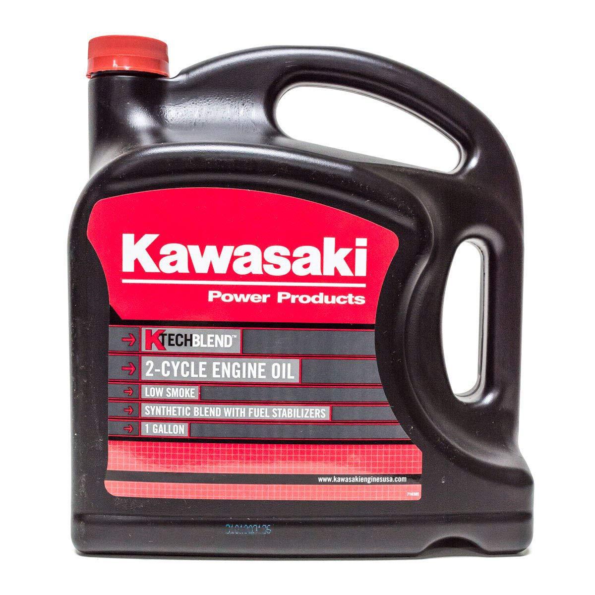 Kawasaki Genuine 1 Gallon OEM 2-Cycle K-Tech Engine Oil / 99969-6086