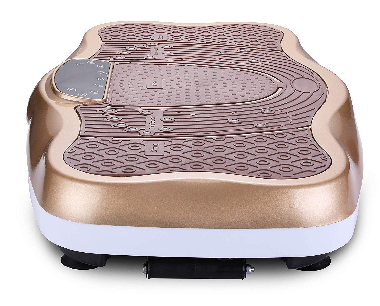 TODO Vibration Platform Power Plate Wholebody Vibrating Massager- Remote Control/Bluetooth Music/USB Connection/Adjustable Speed(Gold-Wave) by TODO (Image #6)