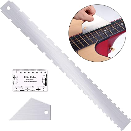 Guitar Neck Steel Straight Edge for Luthier Repair Tools Guitar Player