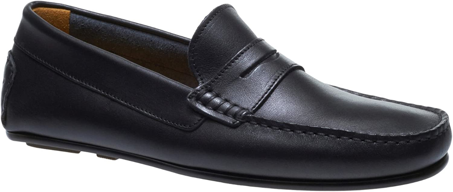 Sebago Mens Tirso Penny Leather Loafers