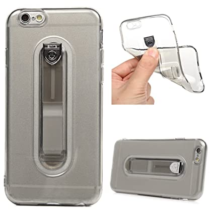 Amazon.com: Carcasa para iPhone 6S, transparente, suave, de ...